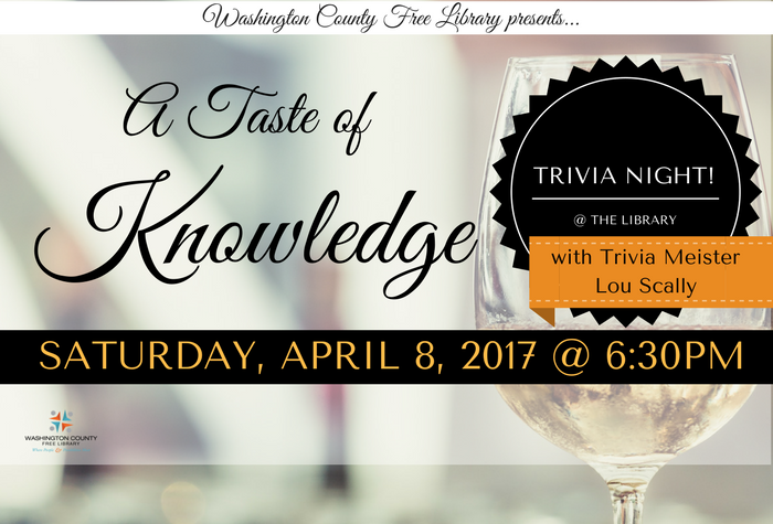 A Taste of Knowledge fundraiser