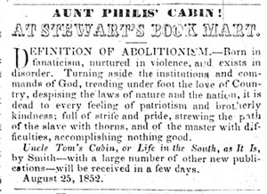 Article from Herald of Freedom and Torch Light, 1852