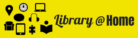 various web icons for library at home