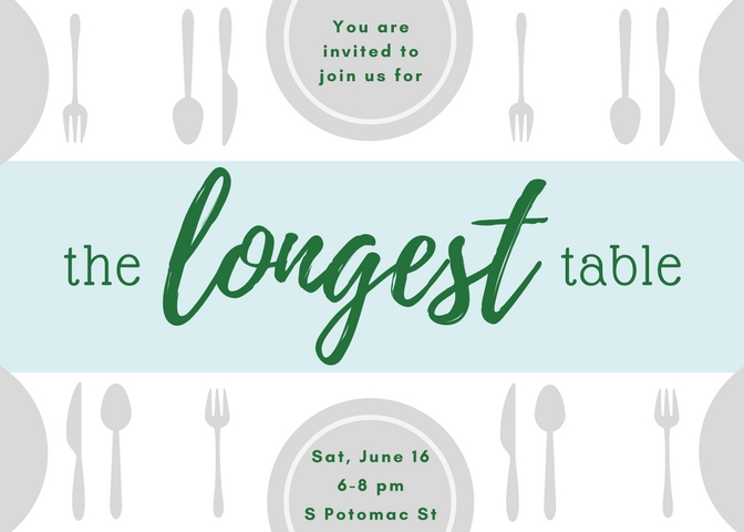 Table setting graphic
