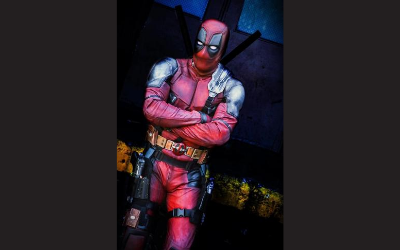 Picture of Deadpool in cosplay