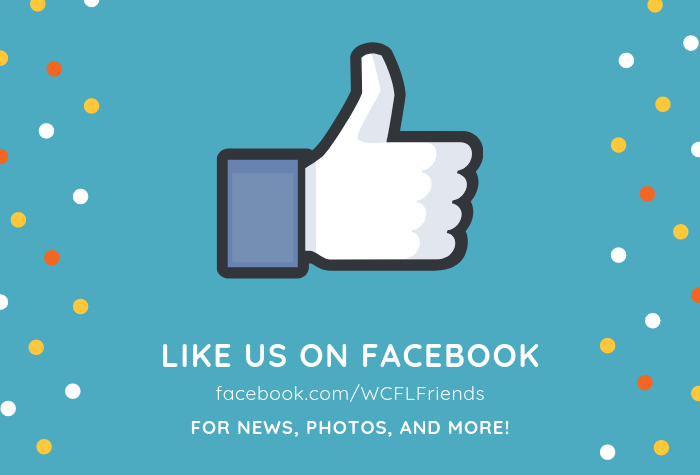 Facebook Like thumbs up with WCFLFriends Facebook URL