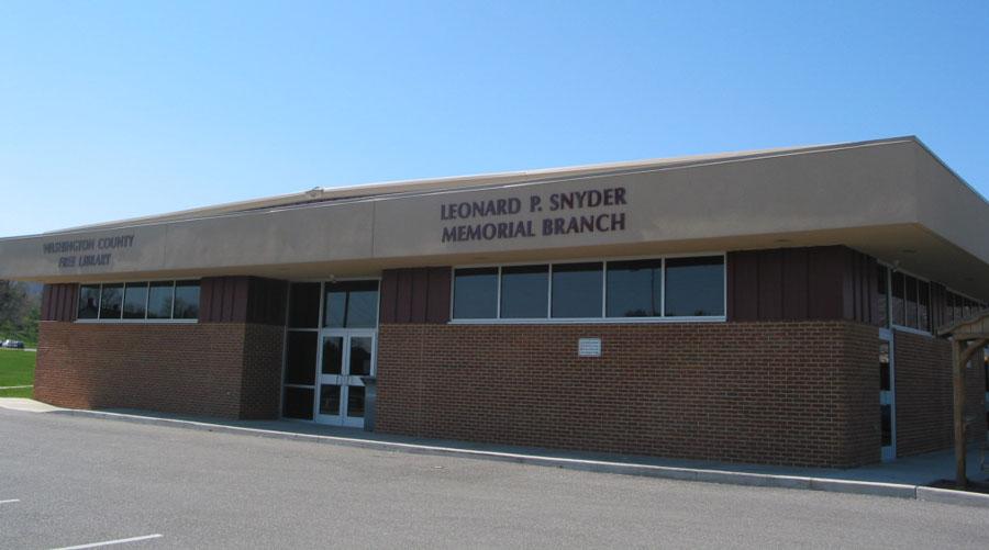 Clear Spring - Leonard P. Snyder Memorial Library