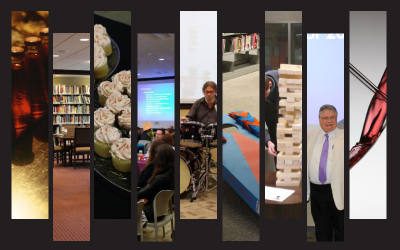 Collage of photos from Annual Fundraiser