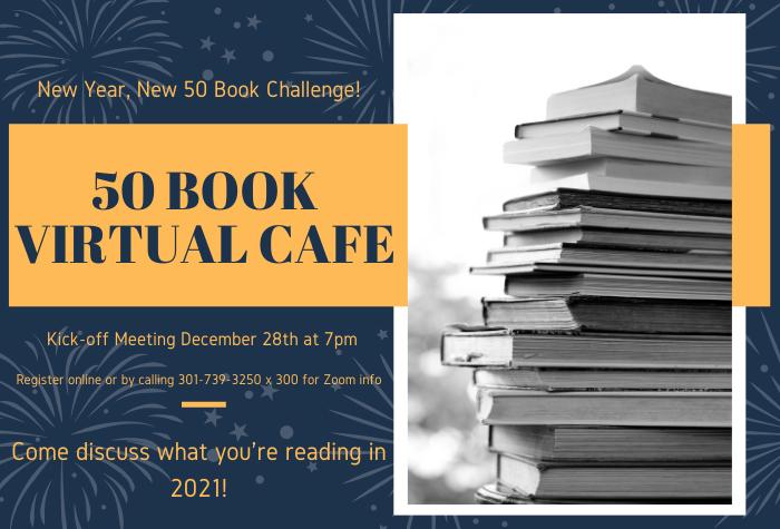 50 Book Virtual Cafe Meeting