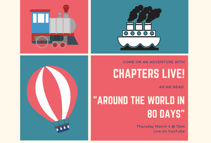 Chapters Live! Around the World in 80 Days