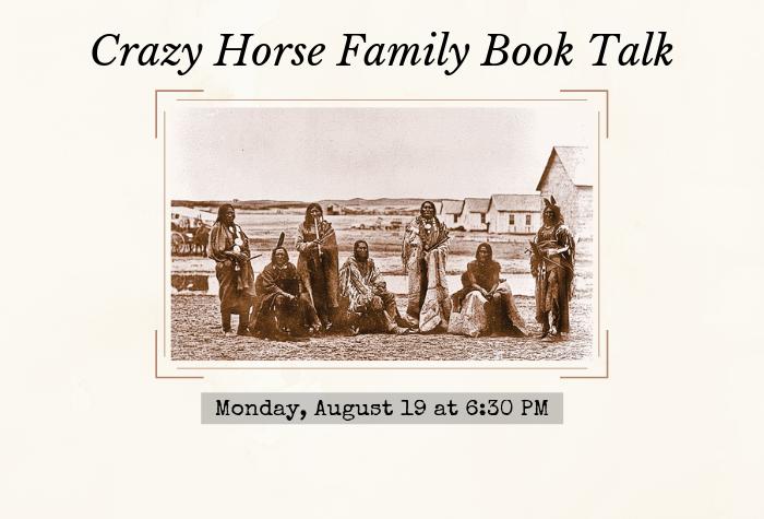 Photo of historic Crazy Horse Family
