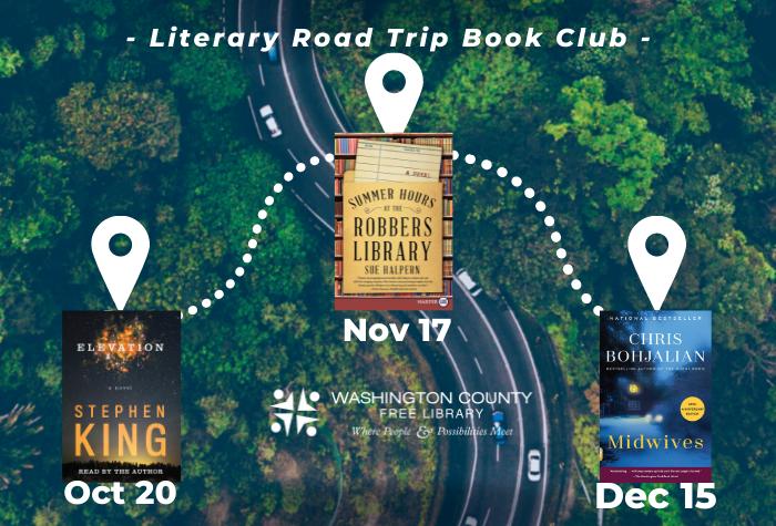 Literary Road Trip Book Club