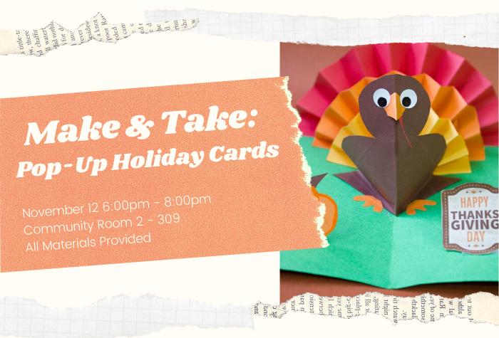 Turkey pop-up card