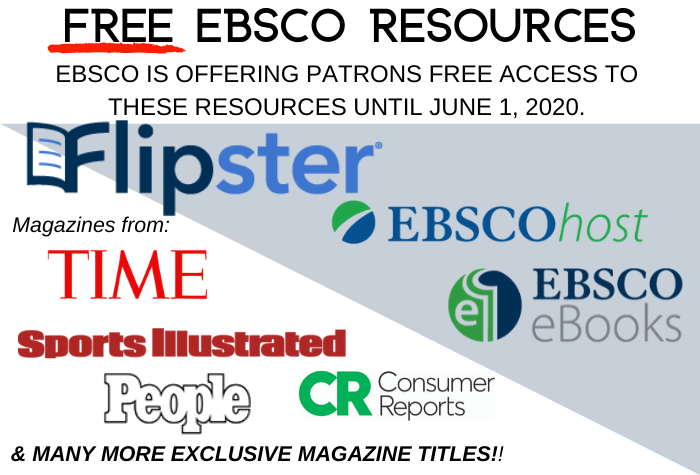Free EBSCO Resources