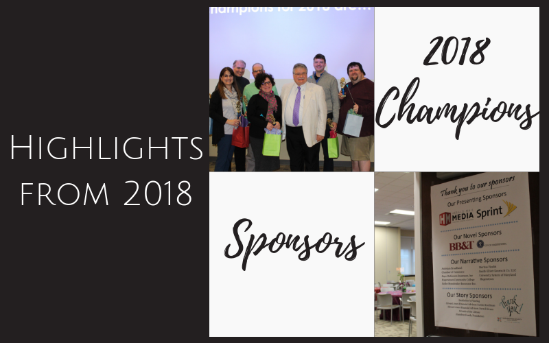 Event highlights with people and sponsors