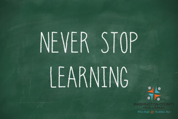 Never Stop Learning @ WCFL