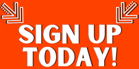 Sign up today with 2 arrows pointing to words