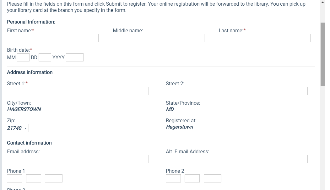 Step 4 - screen capture to register for account