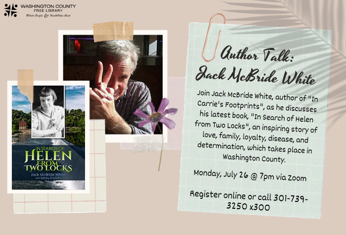 Author Talk Helen and the Two Locks