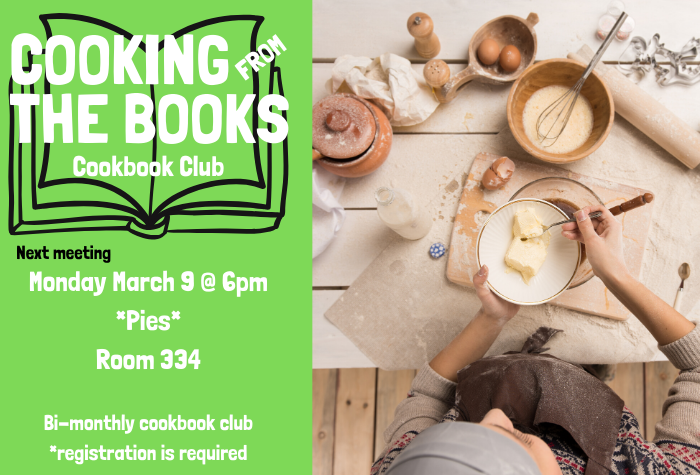 Cookbook Club - March