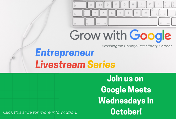 Grow with Google Livestream Entrepreneur Series