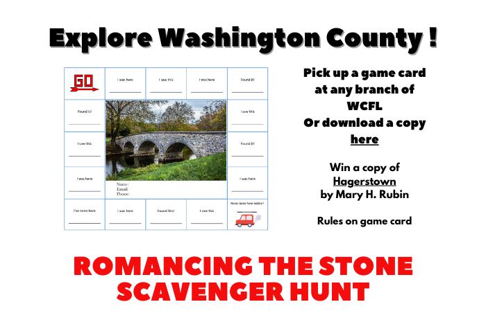 Romancing the Stone Scavenger Hunt