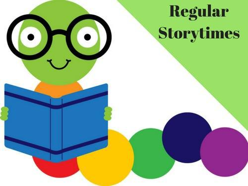 Regular Storytimes Bookworm