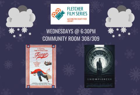 Fletcher Film Series - January 2020 movie covers