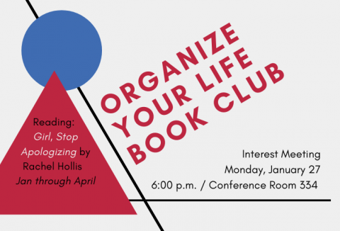 Organize Your Life Book Club graphic