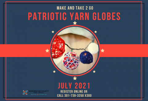 Make & Take 2 Go Yarn Globes