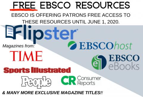 Free EBSCO Resources